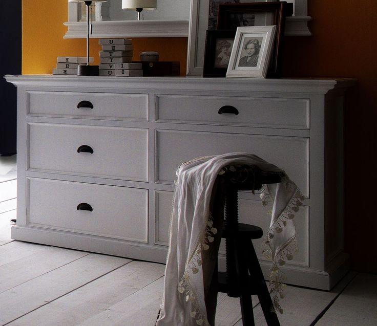 Belgravia Painted 6 Drawer Wide Chest