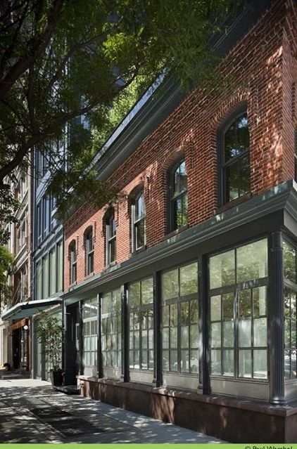 The Tribeca Townhouse In Manhattan Adds Four Stories To An