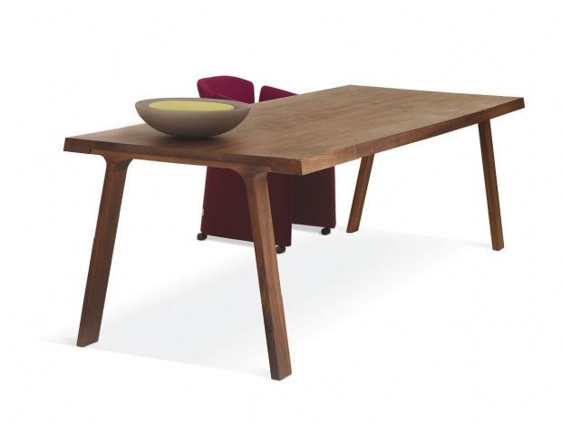 montis doble table | dutch solid wood doble table