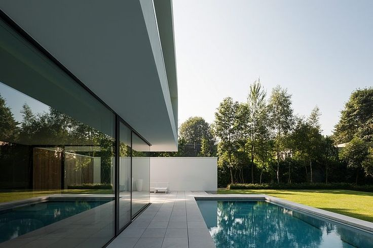 piscine - HS Residence par Cubyc Architects - Bruges, Belgique