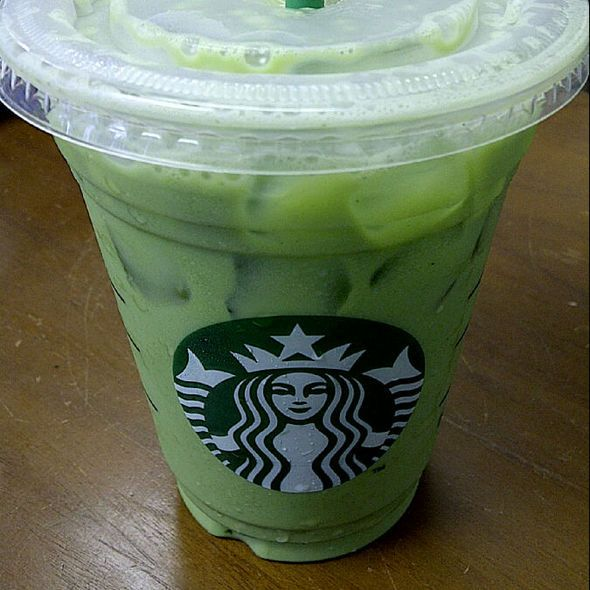 For All The Green Tea Latte Lovers Out There: How to Make Your Own -Matcha Green Tea Powder -Melon Syrup or Syrup of Liking (vanilla syrup) -Milk of liking -Water ~Mix 4tbs matcha w/ 4 shots of syrup. Fill glass w/ 50/50 milk & water apprx 4-6oz each. You may steam milk for hot latte. Stir & drink. If not sweet enough add more syrup. Adjust for smaller portion.