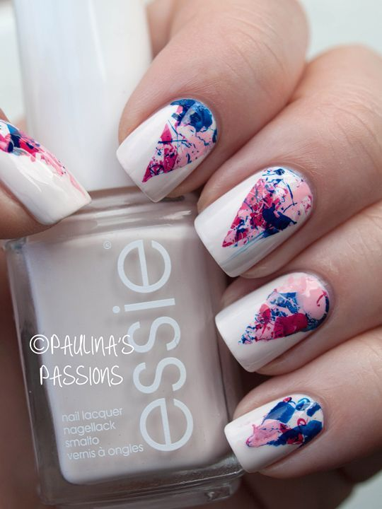 20 Nail Art Designs Oh my god, how do I get these? - Best 25+ Splatter Paint Nails Ideas On Pinterest How To Paint