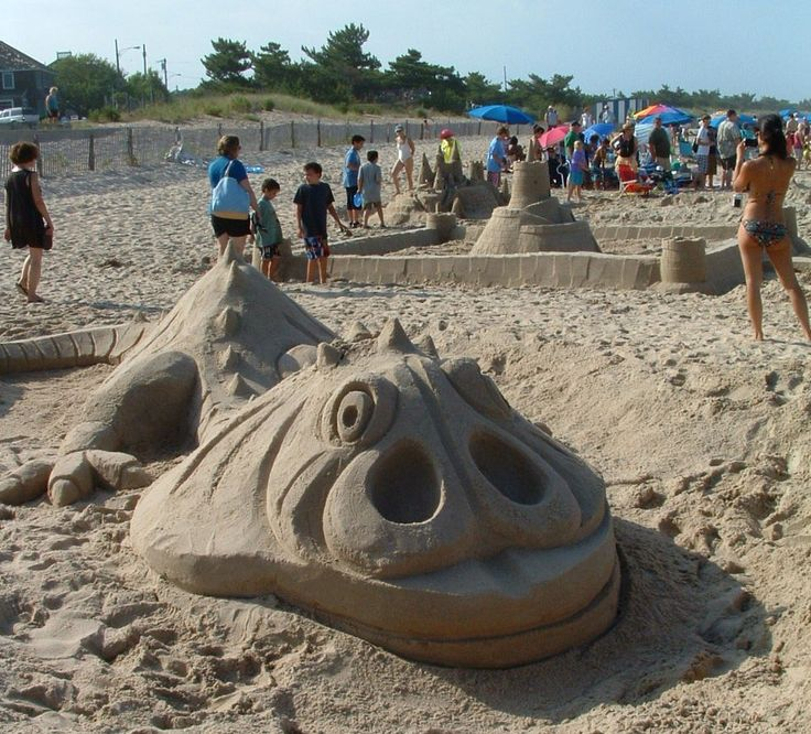Free Beach Fun: How to Build Sand Castles & Sculptures With Kids