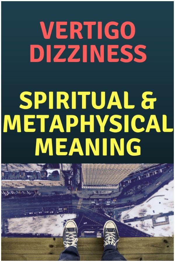 Vertigo and Dizziness - Spiritual Causes, Meaning & Healing
