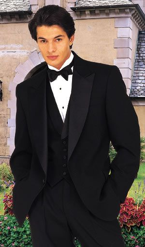 After Six Black Amalfi Peak [P687] : Tuxedos and Wedding Rental Tuxedos, Tuxedos and Wedding Rental Tuxedos