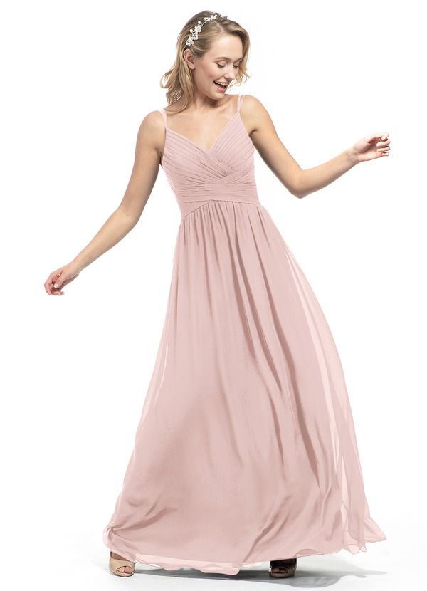 fc3e8034671 Shop Azazie Bridesmaid Dress - Blake in Chiffon and Tulle. Find the perfect  made-to-order bridesmaid dresses for your bridal party in your favorite  color