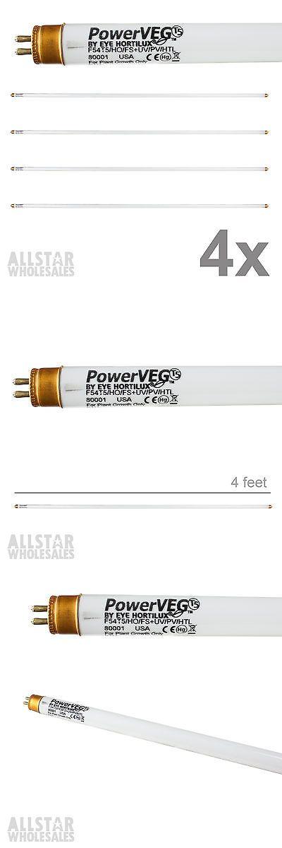Grow Light Bulbs 178988: Eye Hortilux Power Veg T5 4 Ft 54W Bulbs Powerveg Full Spectrum Uva Uvb, 4 Pack -> BUY IT NOW ONLY: $119.99 on eBay!