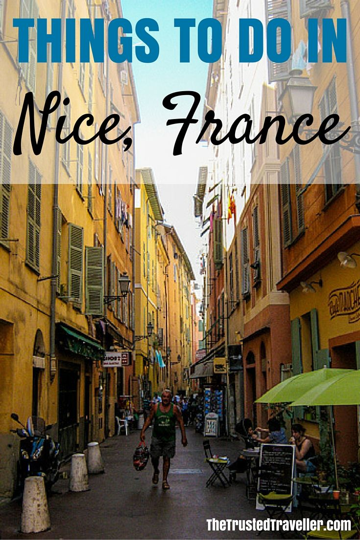Nice Vieux (Old Town)  - Things to Do in Nice - The Trusted Traveller  Europe Travel Tips