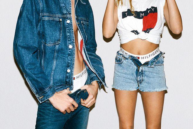 MiCaramel': Коллекция денима Tommy Jeans возрождает фасоны 90-х