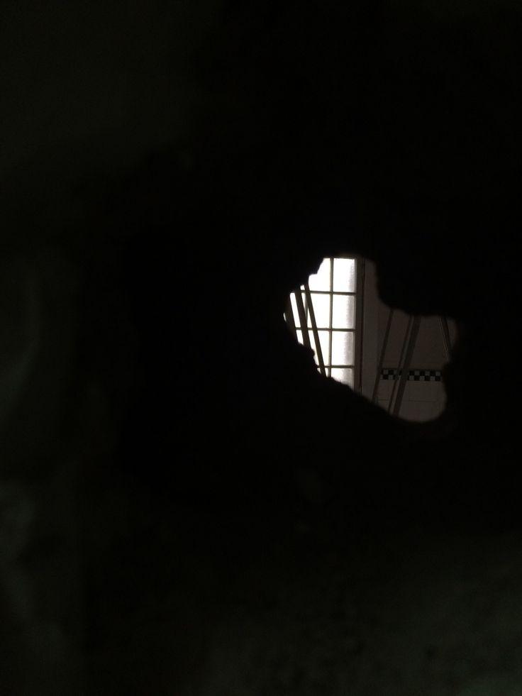 Agujero en el muro de Londres 38