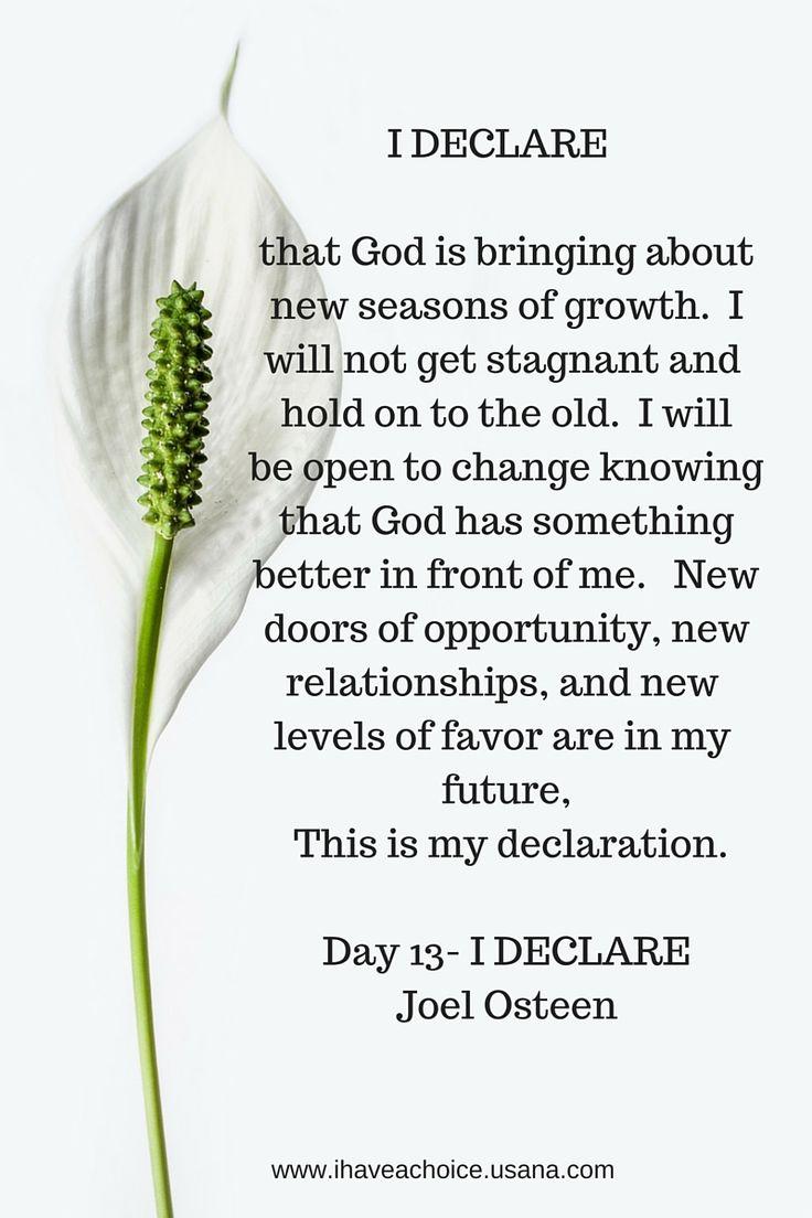 I Declare-Day 13 Joel Osteen