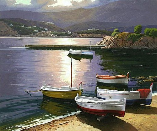 Ses Oliveras - Cadaques by Ramon Pujol