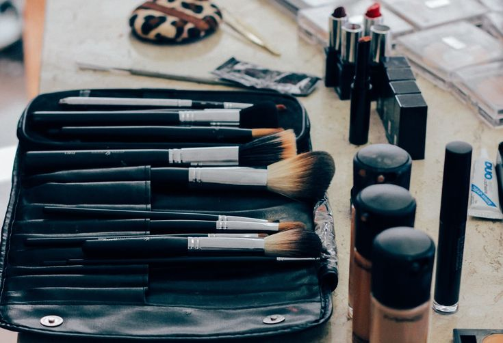 Make-up Pinselset auf http://wilderminds.de