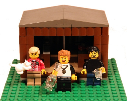 Trailer Park Boys Lego Collection