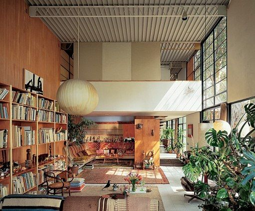 Eames House, Ray & Charles Eames, (1945-1948)