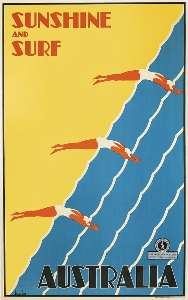 Rare & Important Vintage Travel Posters