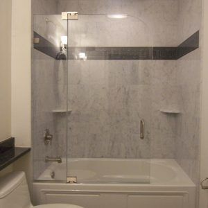 Frameless Shower Doors On Tubs