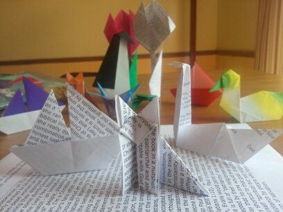 What I learned turning my hate mail into origami