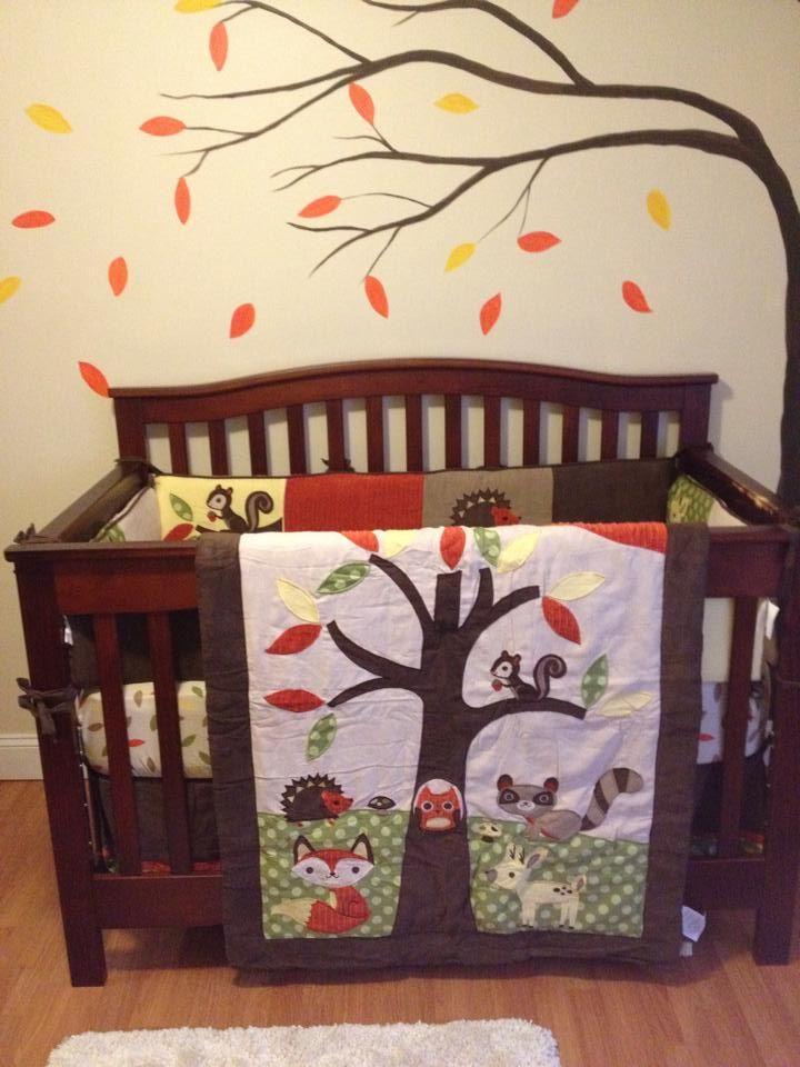 Woodland Creatures Nursery Theme Baby Pinterest