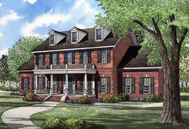 7 best maison images on Pinterest Colonial house plans, Southern