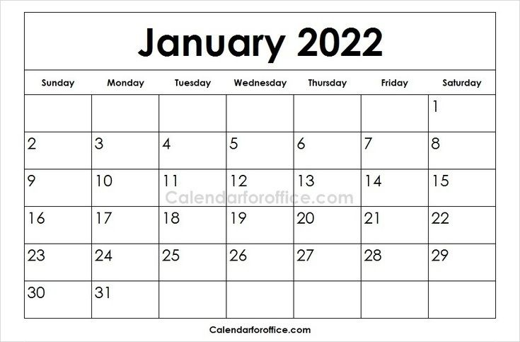 Download January 2022 Calendar Designs February Calendar Excel Calendar Template April Calendar Printable