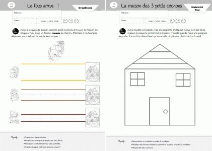 Graphisme PS/MS - Cycle 1 ~ Orphéecole