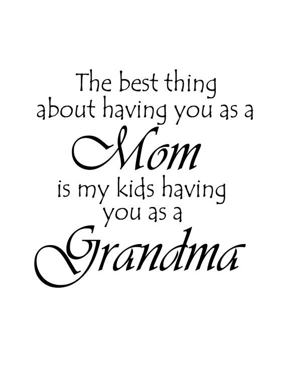 the best thing about having you as a mom quote vinyl via etsy phrases mom quotes grandma quotes quotes
