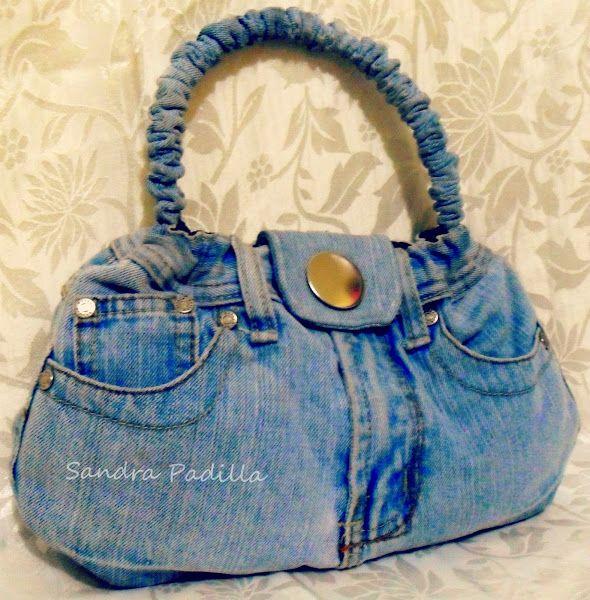 Diy: Cómo hacer un bolso de jean reciclado