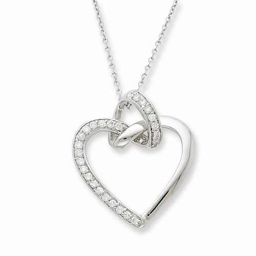 Sterling Silver Friendship Promises Necklace