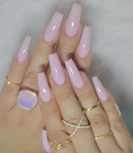 56 Stylish Acrylic Coffin Nail Designs And Colors For Spring Cute Acrylic Nails Pretty Nails Acrylic Nail Designs