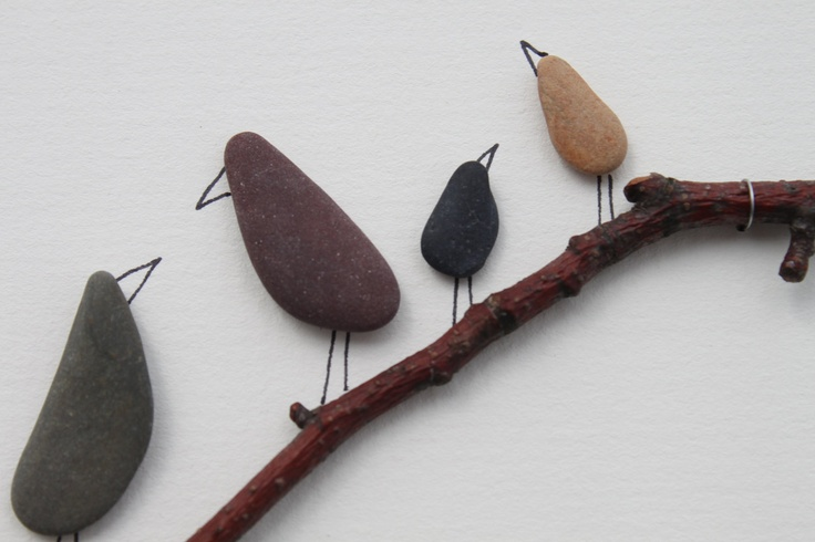 Pebble Art from Nova Scotia By Sharon Nowlan