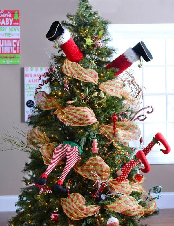 Are you looking for ways to liven up your Christmas tree? Kirkland's has 12 Unconventional Christmas Tree Decorations you must see, including unique garland, plush elf pick legs and bottoms and snowman tree toppers!