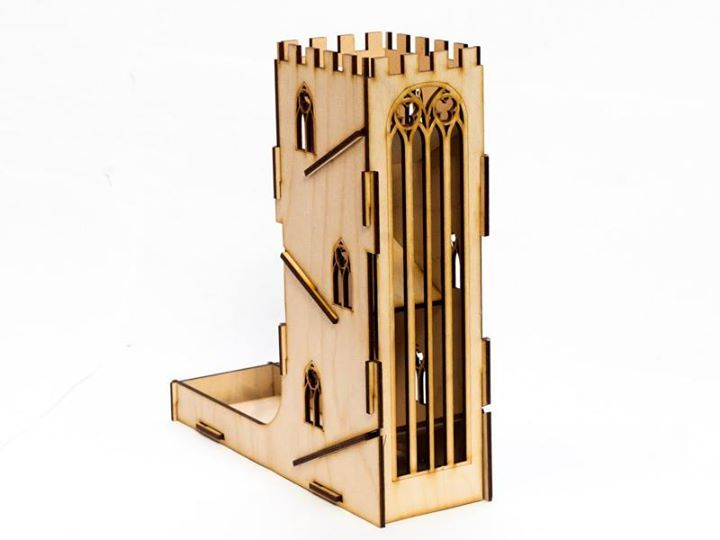 Dice Tower - Castle from the behind http://e-raptor.pl/dice_tower_castle