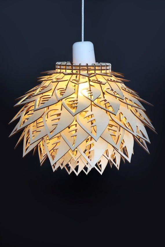 Lampe En Bois Lampe En Bois Pendentif Lampe Pendentif Lampe En