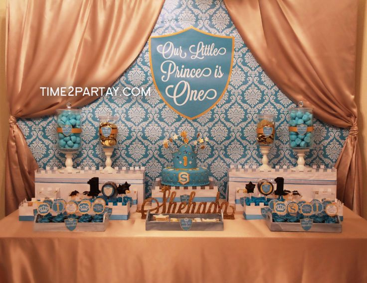 A Royal First Birthday for a Little Prince