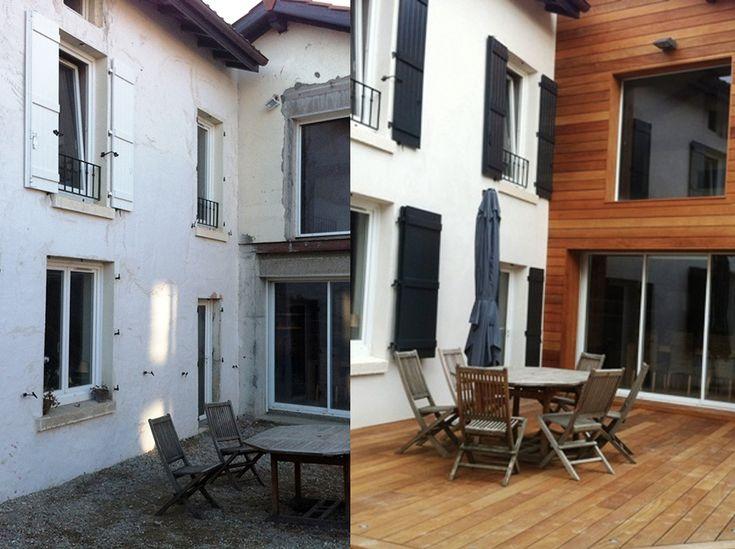 Renovation De Maison #9: Rénovation Maison De Ville Et Agrandissement De La Structure Grâce à Une  Extension. Amélioration Des