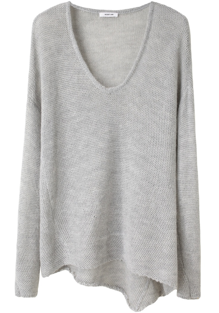 Loose Knit Pullover.