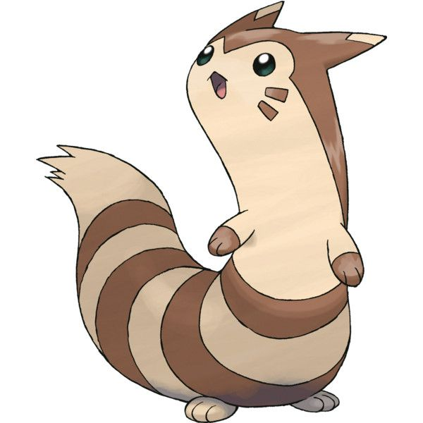 Pokemon ;; Furret ❤ liked on Polyvore featuring pokemon, anime, characters, fillers and random