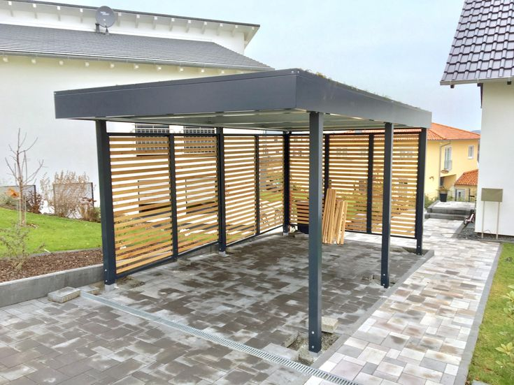 13 besten metall carport bilder auf pinterest carport. Black Bedroom Furniture Sets. Home Design Ideas