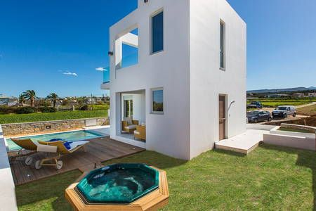 Check out this awesome listing on Airbnb: Thalasses Villas - Villa Melia - Villas for Rent in Pigianos Kampos