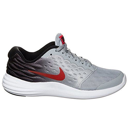 Nike Youth Lunarstelos Mesh Training SneakersGray7 *** Check this awesome  product by going to