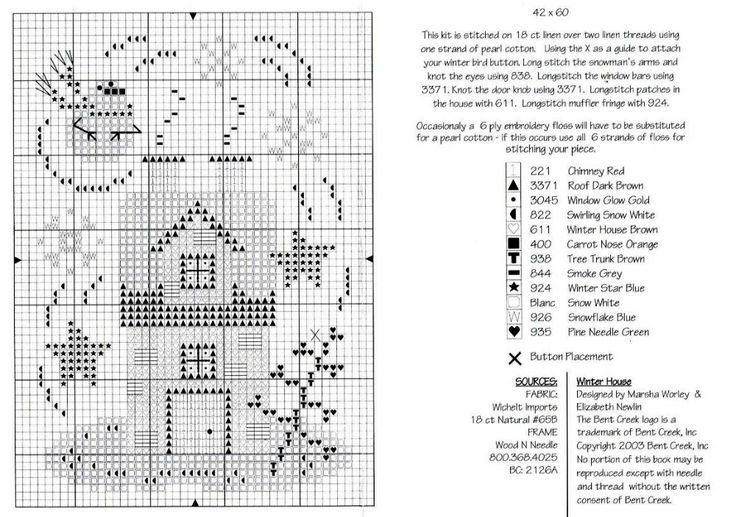 Winter House_2/2 Bent Creek Chart