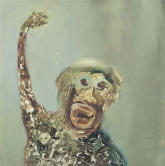 African Monkey By Sidney Nolan