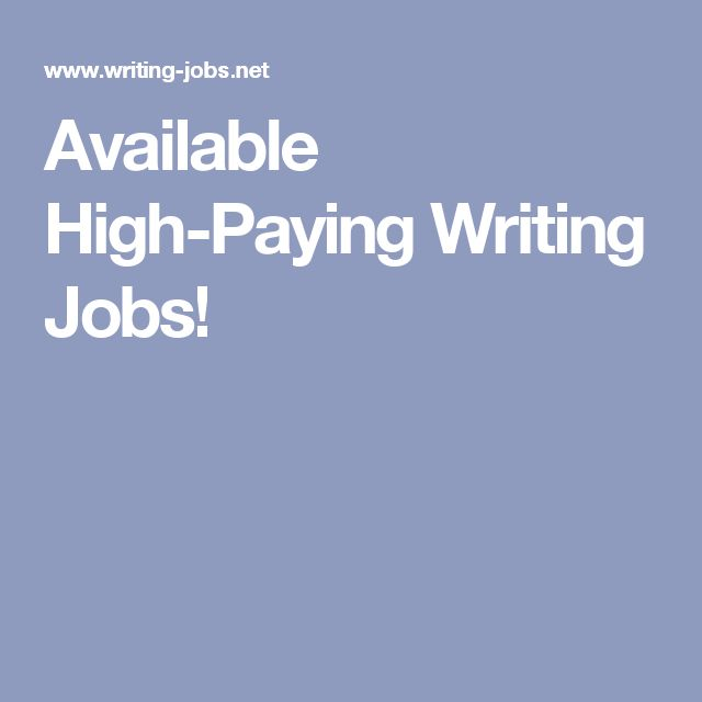 best available high paying writing jobs images  available high paying writing jobs