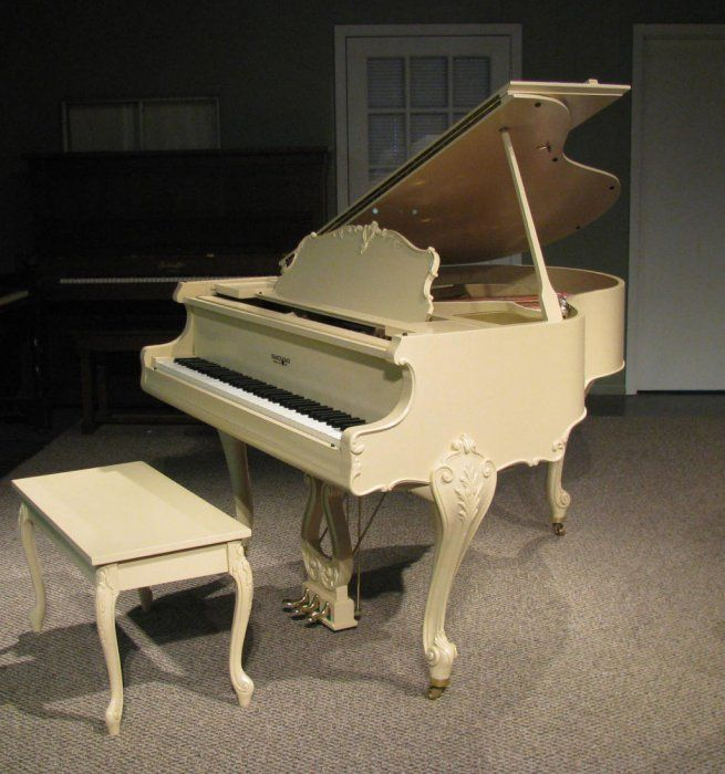Kranich & Bach Louis XV Baby Grand Piano | The Antique Piano Shop