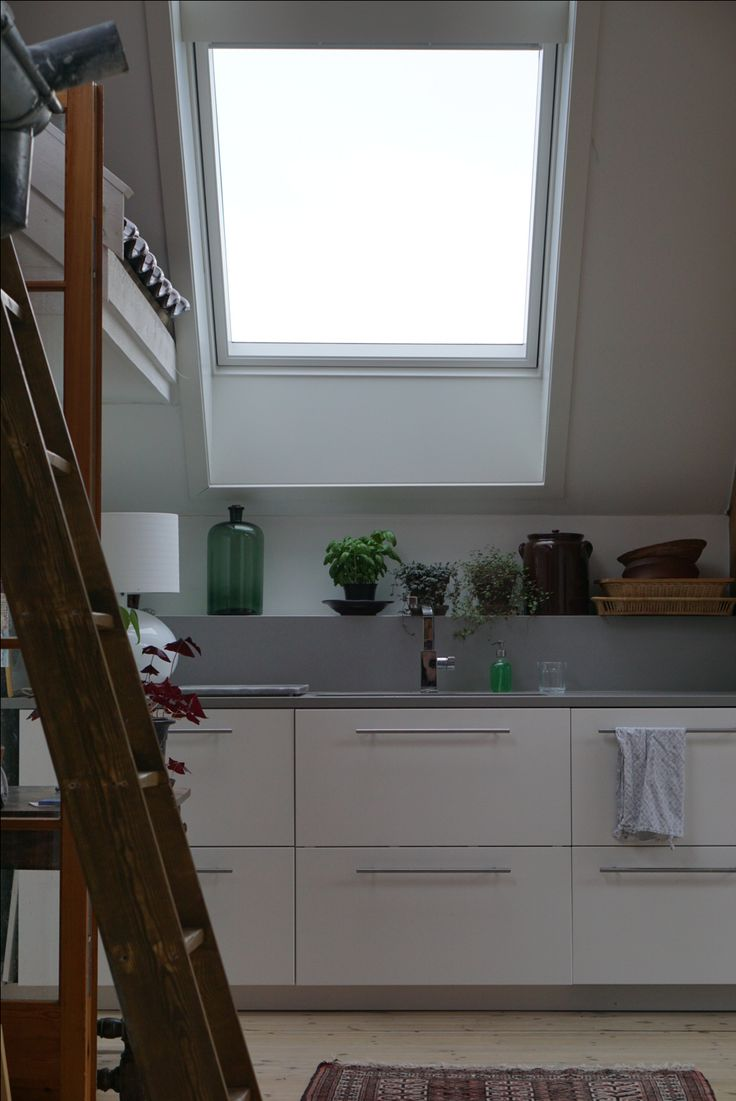 Kitchen, velux windows