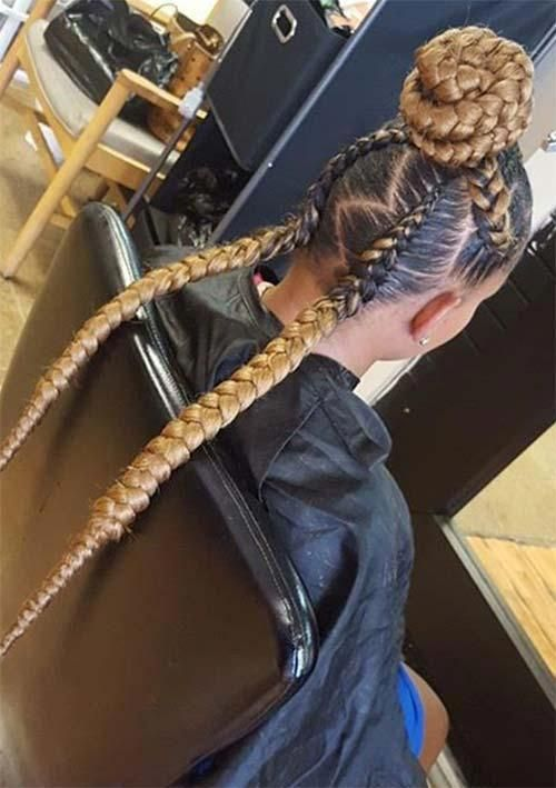 Fast Hairstyles For Black Hair   Completely different Ponytail Types   African Haircut St…