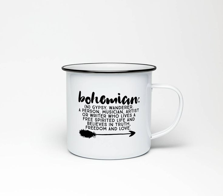 Bohemian Definition | 10 oz Stainless Steel Camping Mug | Camping Coffee Mug | Pretty Mugs With Sayings | RV Accessories | Boho Decor by TheSugarCreekShoppe on Etsy https://www.etsy.com/listing/576043551/bohemian-definition-10-oz-stainless
