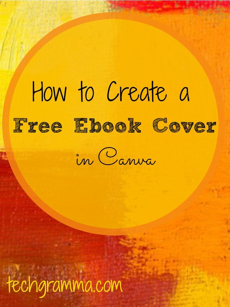 Best Book Cover Creator ~ How to create a ebook cover for free the best