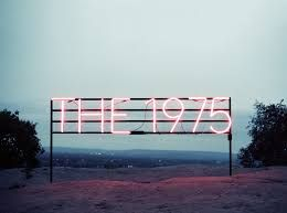 Image result for the 1975 logo pink